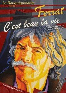 Hommage à Jean Ferrat dans MANIFESTATIONS Affiche-Ferrat-212x300